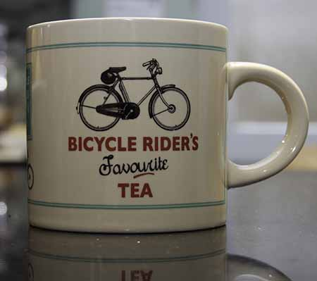 Bicycle Riders Mug