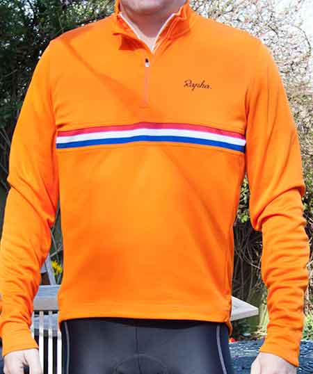 Rapha Long Sleeve Country Shirt - Orange