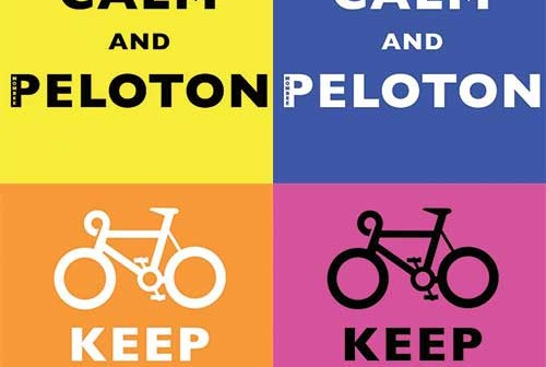 Keep Calm And Peloton – Probably the best cycling shirts ever?