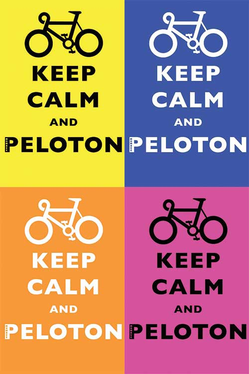 Keep Calm And Peloton cycling t-shirt