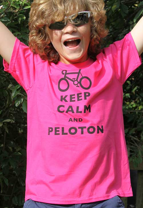 Keep Calm And Peloton Pink