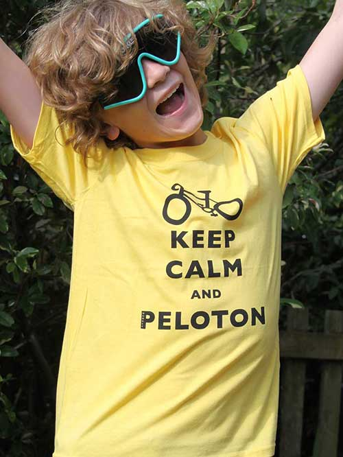 Keep Calm And Peloton Yellow