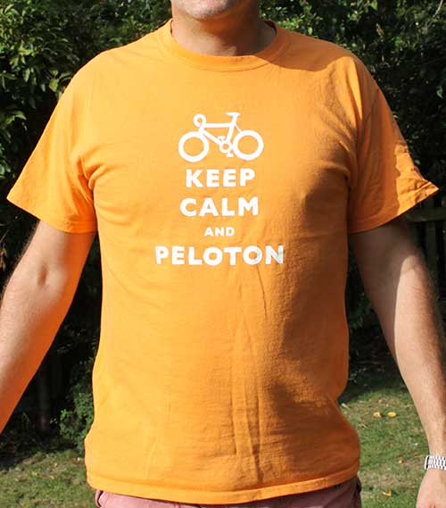 Keep Calm And Peloton Orange