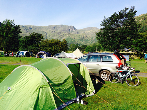 Brotherswater-Campsite-Sunshine