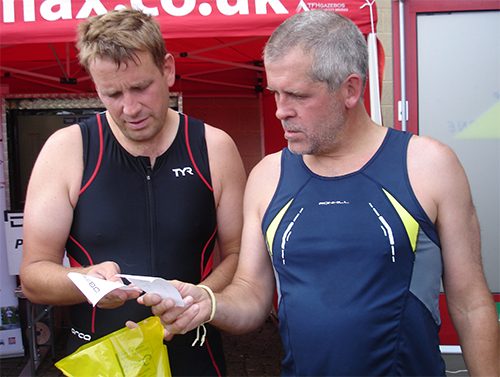 Triathlon-2011-Checking-Times